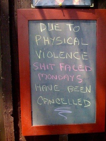 Funny Funny Funny Bar Signs