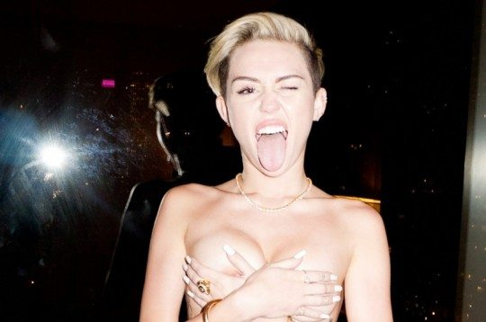 Miley Cyrus Shot by Terry Richardson