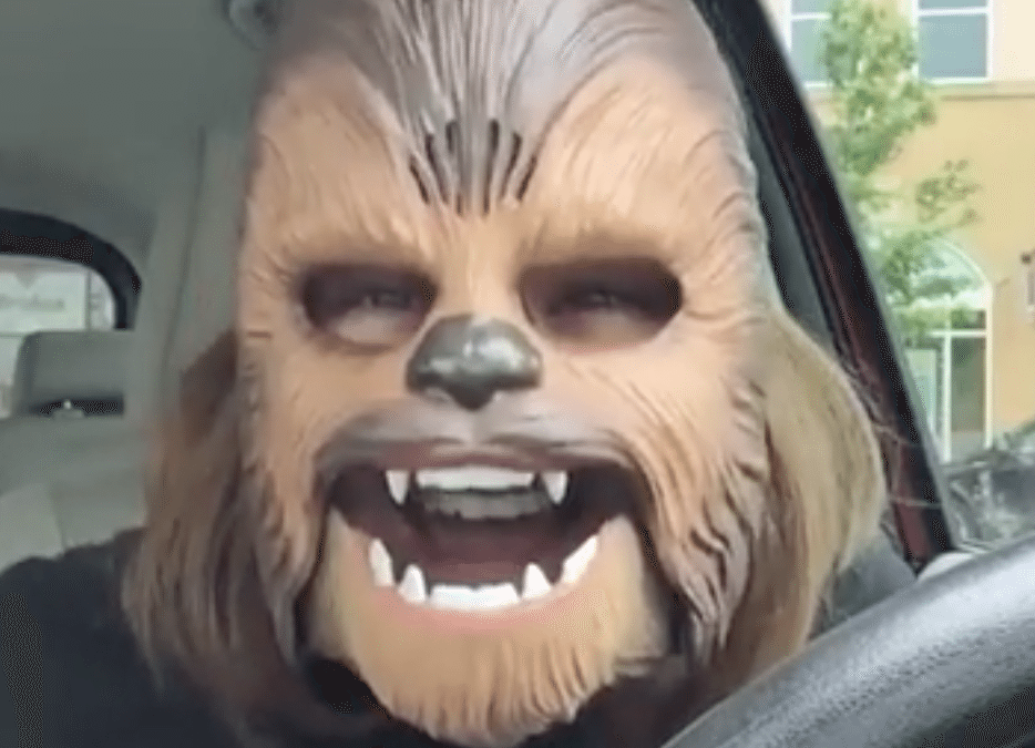 Chewbacca Lady Makes Us Laugh