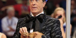 Steven Colbert calls for Hunger Games
